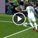 Nacho Fernández Goal, Real Madrid 1-0 Galatasaray