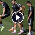 Cristiano Ronaldo Magic Skill During Training Session