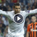 C. Ronaldo Hat-Trick vs Shakhtar – All 3 Goals