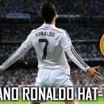 Cristiano Ronaldo hat tricks