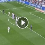 Keylor Navas Amazing Free Kick Save - Real Madird v Malaga 2015