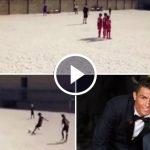 Cristiano Ronaldo posts a clip of Cristiano Ronaldo Jr free kick on Instagram