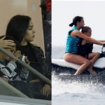 Beautiful bond between Ronaldo's son and girlfriend